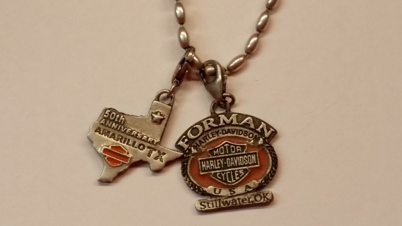 """Harley Davidson 16"""" Chain 999 Silver 12.5g"""