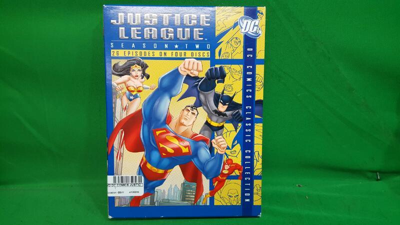 Justice League: Season 2 (DC Comics Classic Collection) DVD