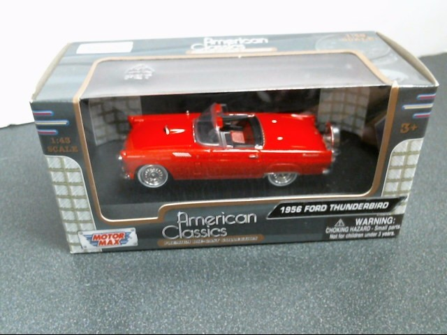 AMERICAN CLASSIC Toy Vehicle 1956 FORD THUNDERBIRD