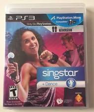 SONY PS3 SINGSTAR+ DANCE
