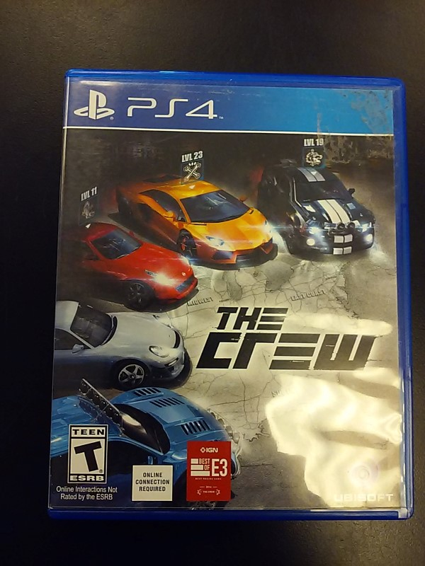 SONY PLAYSTATION4 Sony PlayStation 4 Game THE CREW