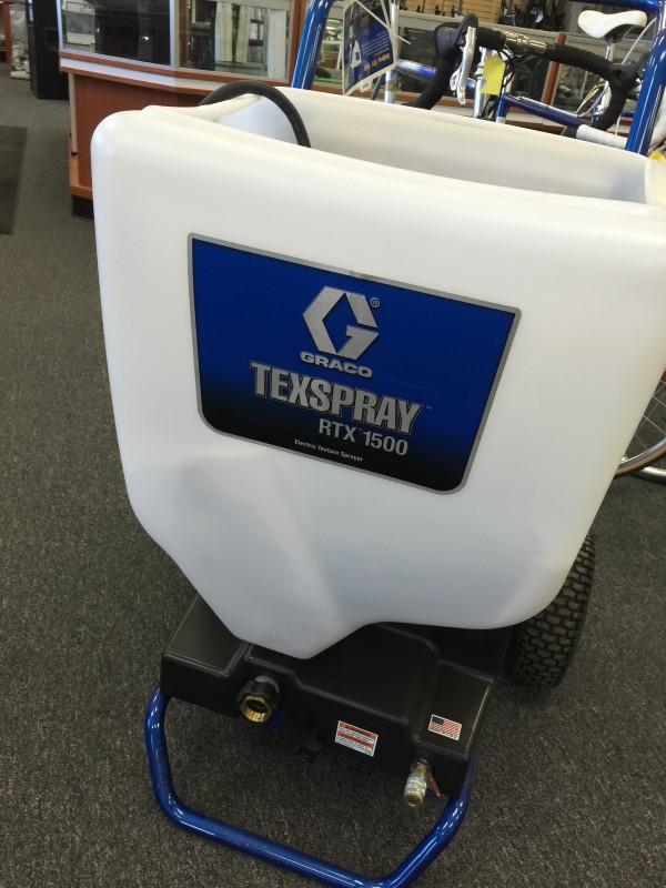 GRACO TEXSPRAY RTX 1500 Electric Texture Sprayer NEW!