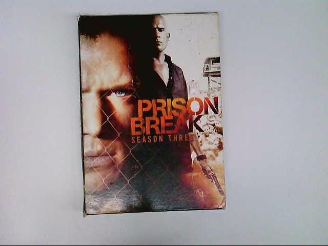 DVD PRISON BREAK SEASON 3