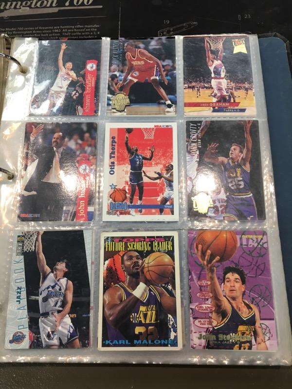 Sports Memorabilia BASKETBALL CARDS