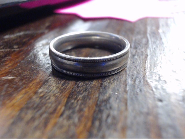 Gent's Silver Ring 925 Silver 5.2g Size:10