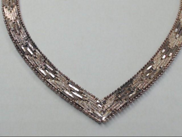 """18"""" Silver Fashion Chain 925 Silver 35.6g"""