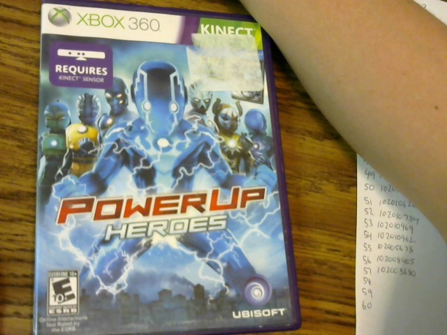 Kinect Power Up Heroes xbox 360
