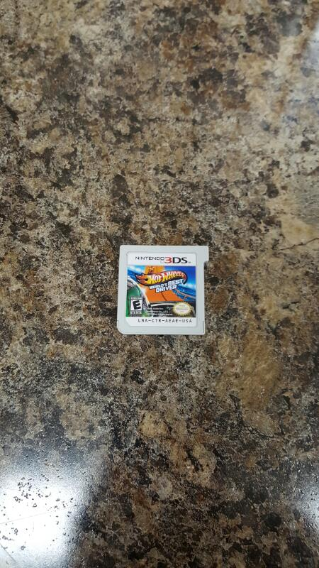Hot Wheels: World's Best Driver (Nintendo 3DS, 2013)