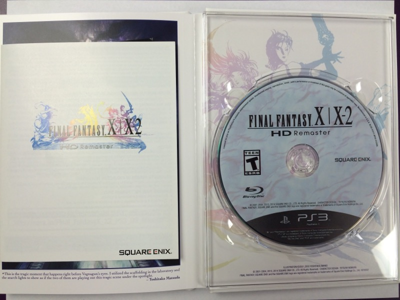Final Fantasy X/X-2 HD Remaster - Limited Edition - Sony PS3, 2014