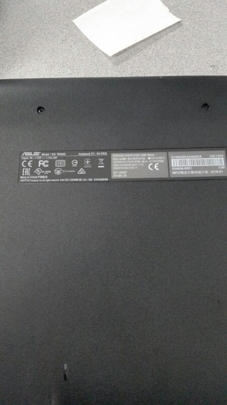 ASUS R540S