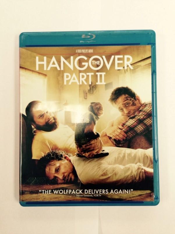 THE HANGOVER: PART II BLU-RAY DVD MOVIE