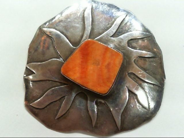 Silver Brooch 925 Silver 9.3g