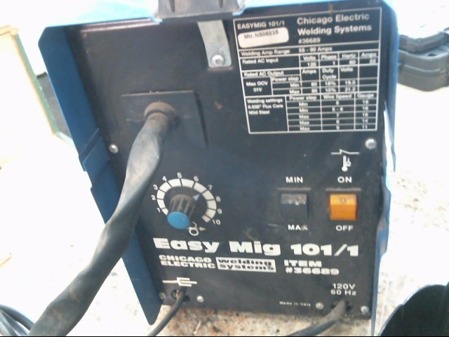 CHICAGO ELECTRIC Wire Feed Welder EASY MIG 101