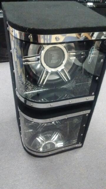 "DUAL ELECTRONICS CAR SPEAKER 12"" ILLUMINITE SUBWOOFER"