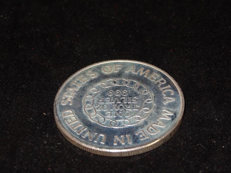 Silver Bullion ONE TROY OZ .999 SILVER BULLION