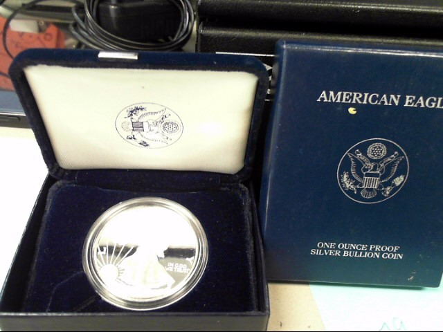 UNITED STATES proof Silver Coin EAGLE - SILVER EAGLE - 1986 TO PRESENT