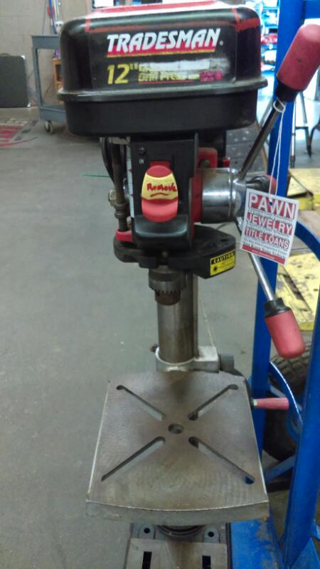TRADESMAN Drill Press DP12LW
