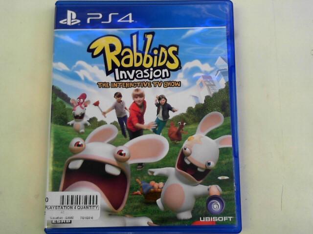 SONY Sony PlayStation 4 Game RABBIDS INVASION