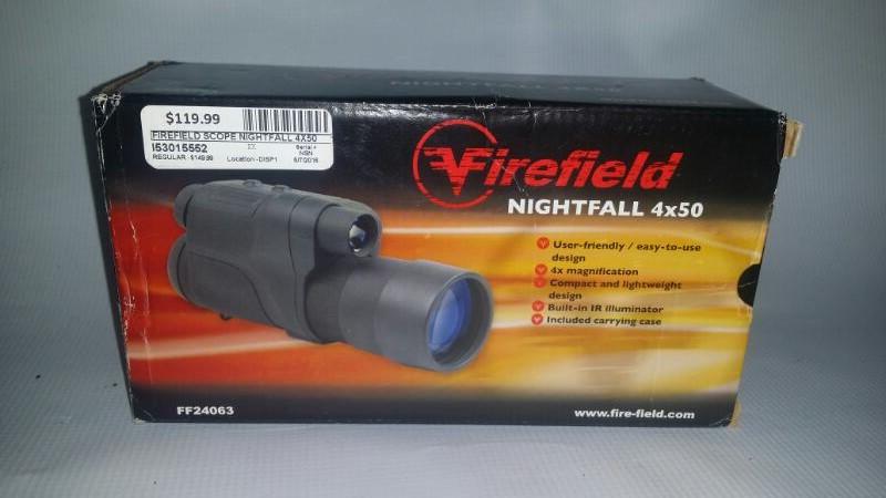 FIREFIELD Binocular/Scope NIGHTFALL 4X50