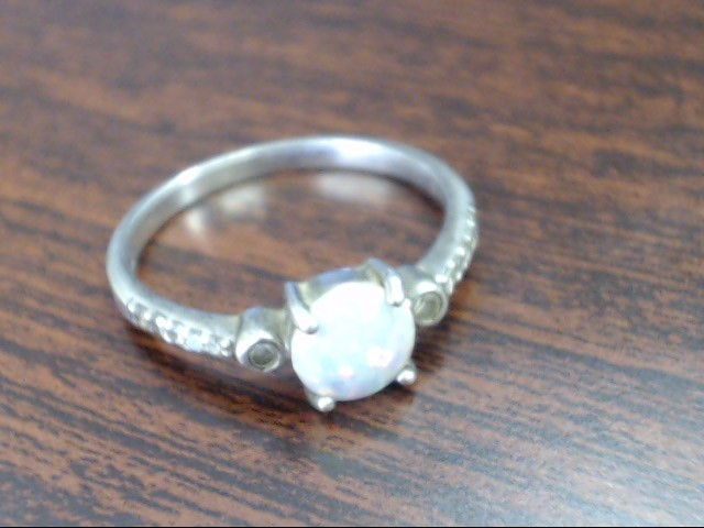 Lady's Silver Ring 925 Silver 2.4g Size:10