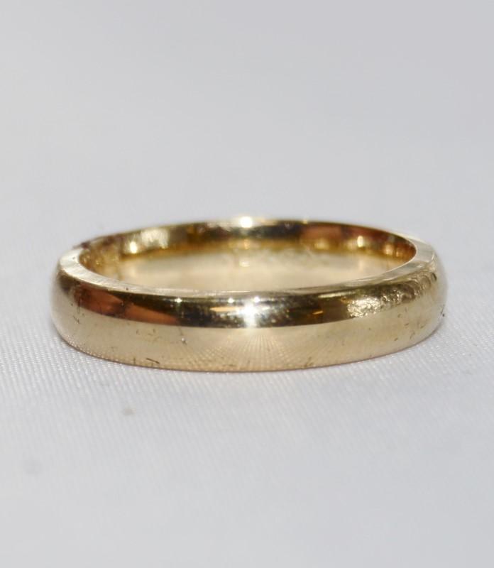 14K Yellow Gold Ladies Women's Wedding Band Size 6