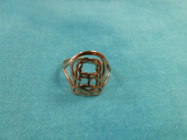Lady's Gold Ring 10K Yellow Gold 1.3dwt Size:6.5
