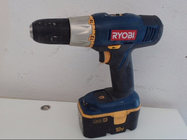 RYOBI Cordless Drill with Battery
