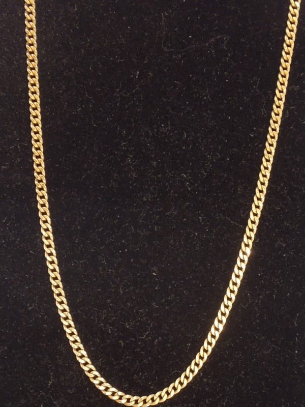 Gold Rope Chain 18K Yellow Gold 8.1g