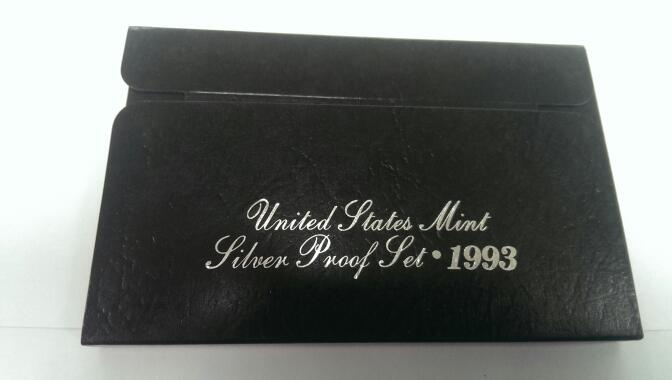 UNITED STATES 1993 MINT SILVER PROOF SET