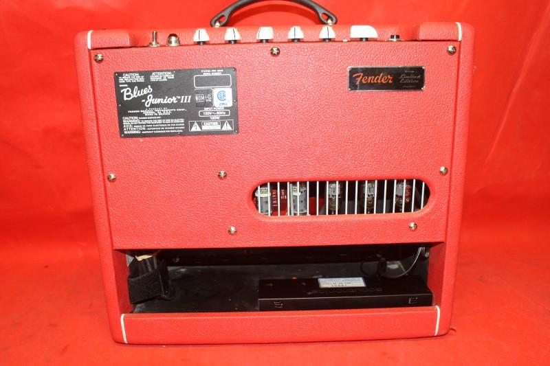 """Fender Blues Junior III Red October LTD - """"Red October"""" FSR"""