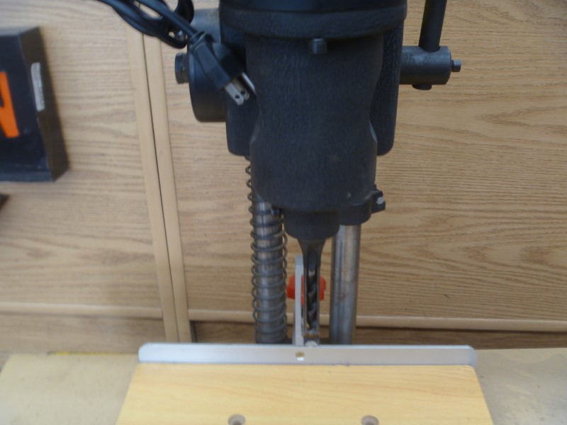 """CENTRAL MACHINERY 35570 1/2 HP MORTISING MACHINE WITH EXTRA BITS AND 3/8"""" CHUCK"""