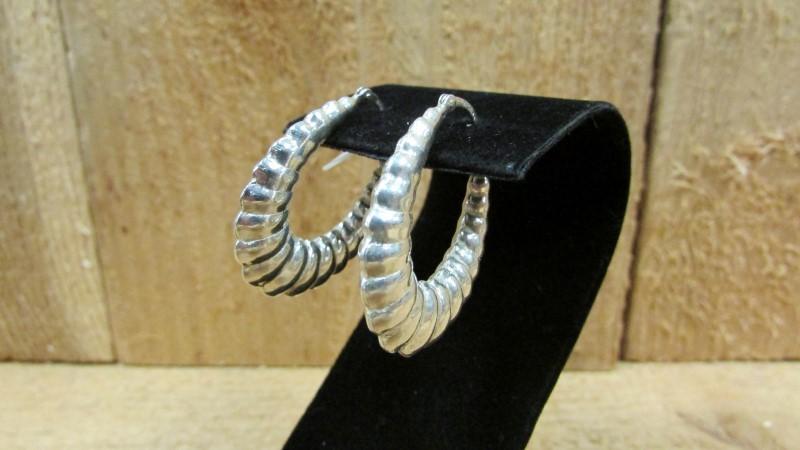 Silver Earrings 925 Silver 6.6g