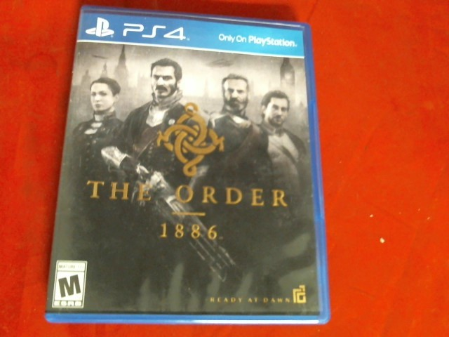 THE ORDER 1886 PS4 GAME