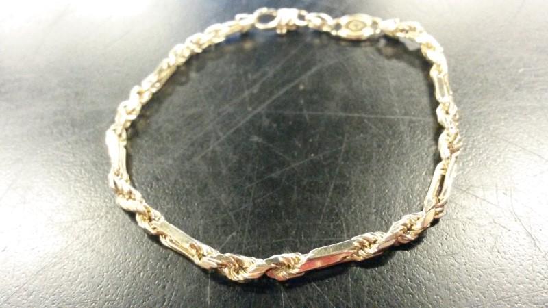 SNAKE Gold Fashion Bracelet 14K Yellow Gold 5.4dwt