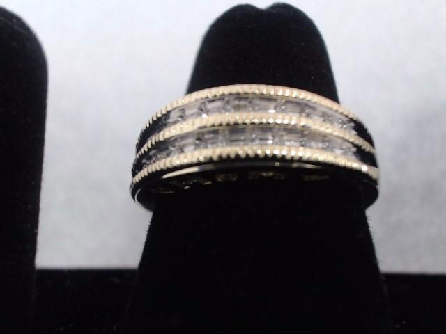 Lady's Diamond Solitaire Ring 22 Diamonds .22 Carat T.W. 10K Yellow Gold 2.9g