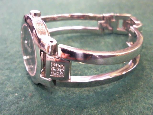 MOVADO Lady's Wristwatch 84-E41842 18 Diamonds .18 Carat T.W. Silver Stainless