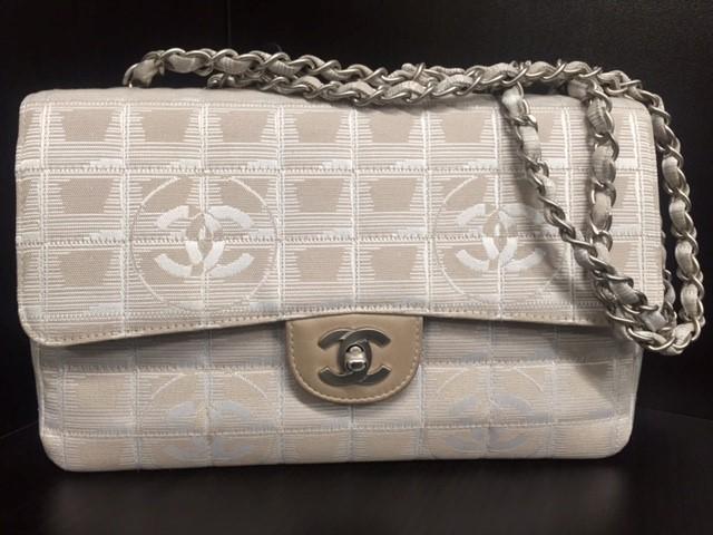 CHANEL Handbag NEW TRAVEL LINE DOUBLE CHAIN SHOULDER