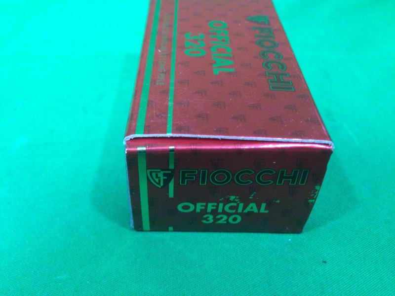FIOCCHI OFFICIAL 320 22lr Match Ammo 50rds