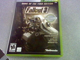 MICROSOFT Microsoft XBOX 360 Game FALLOUT 3 GAME OF THE YEAR