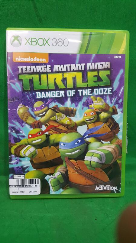 Teenage Mutant Ninja Turtles: Danger of the Ooze (Microsoft Xbox 360, 2014)