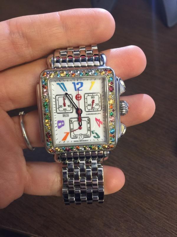 MICHELE Deco Carousel Lady's Wristwatch MW06P25A1933