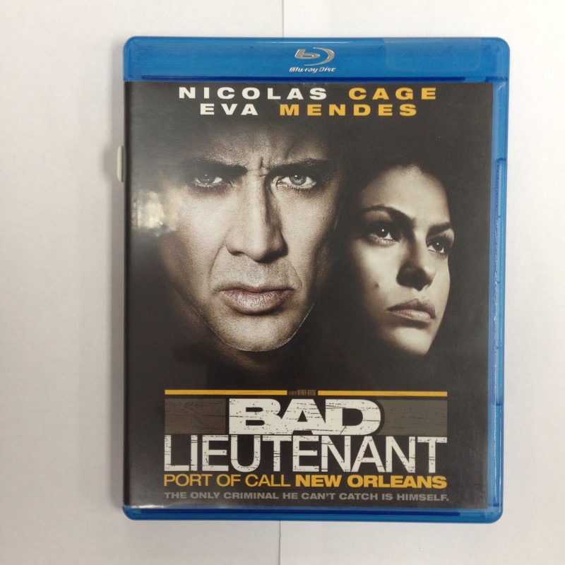 BAD LIEUTENANT PORT OF CALL NEW ORLEANS BLU-RAY,2009