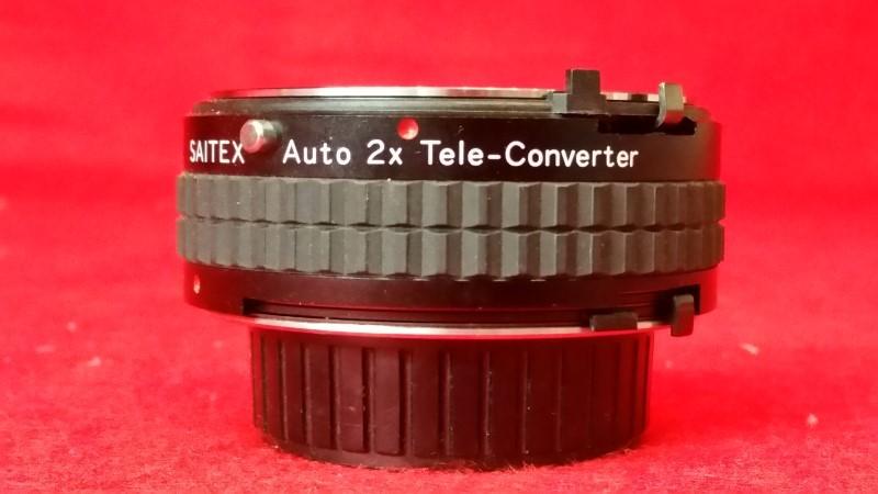 Saitex Auto 2X Tele-Converter M/MD Made in Japan