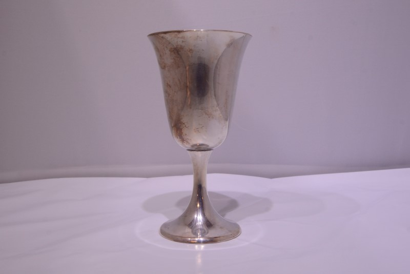 "Puritan by Gorham 6-1/2"" Sterling Silver Water Goblet 272 c. 1930"