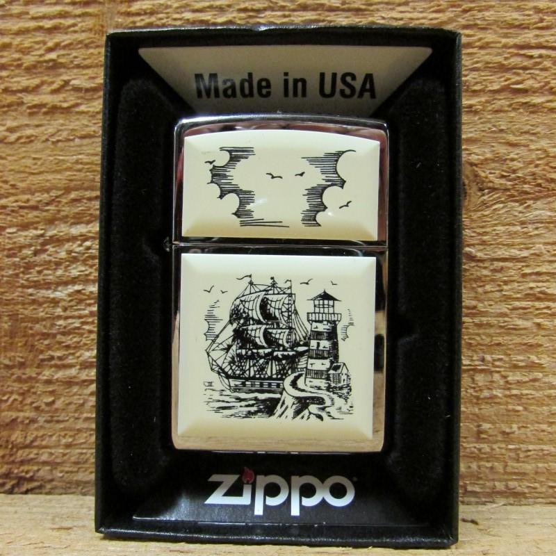 ZIPPO Lighter SCRIMSHAW