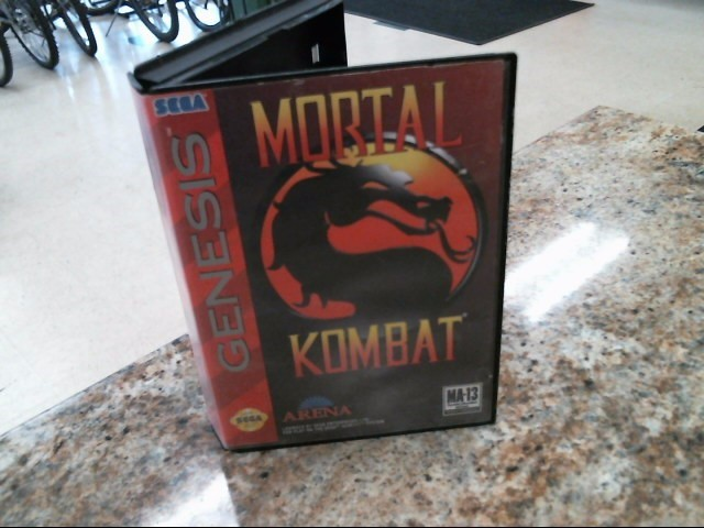 SEGA Sega Game MORTAL KOMBAT-GENESIS