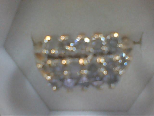 Lady's Diamond Cluster Ring 15 Diamonds .60 Carat T.W. 14K Yellow Gold 4.8g