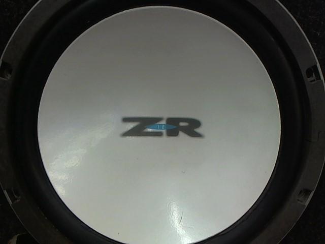 """ALPINE ZR12 12"""" SUBWOOFER"""
