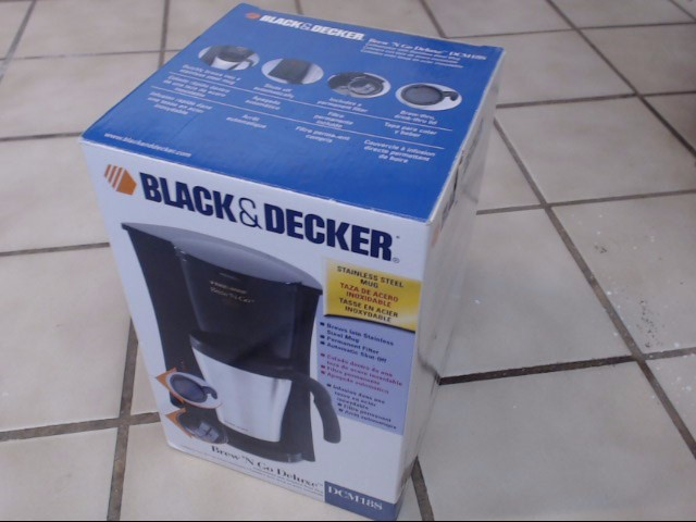 BLACK&DECKER Coffee Maker DCM18S