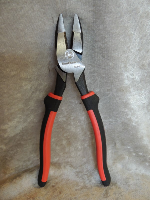 Southwire SCP9 High Leverage Side Cutting Plier 9 Inch Drop Forged Steel